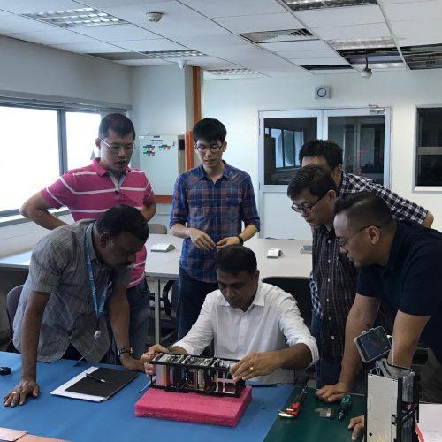 Nano satellite workshop